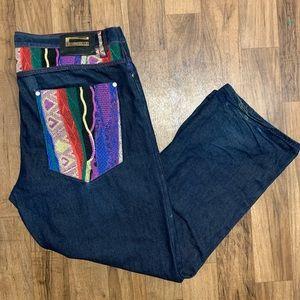 Coogi Vintage Sweater Men's Jeans Size 44x35